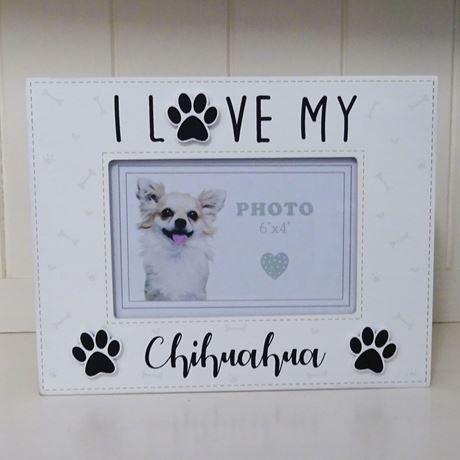 fotokader I love my chihuahua