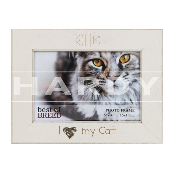 fotokader kat, I love my cat, foto 10x15cm