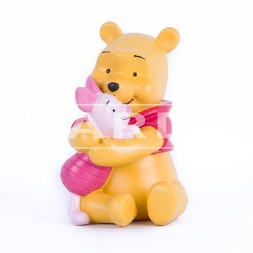 Pooh en knorretje 10 x 15 cm