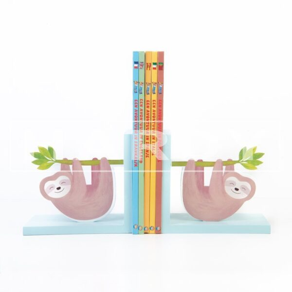 Luiaard met bamboo 30 x 15 cm