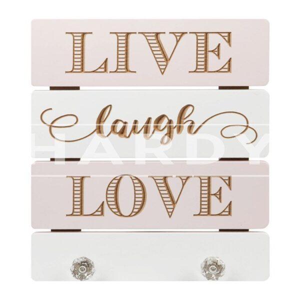 kapstok Live Laugh Love