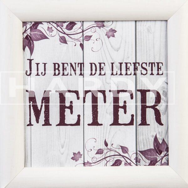 Jij bent de liefste meter