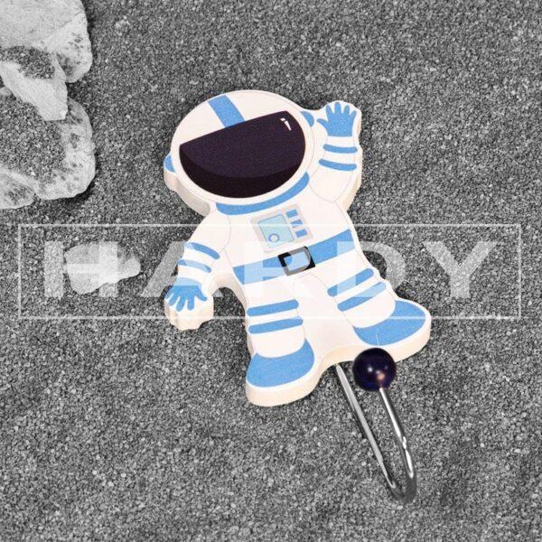 kapstok astronaut, kinderkamer, muurdecoratie