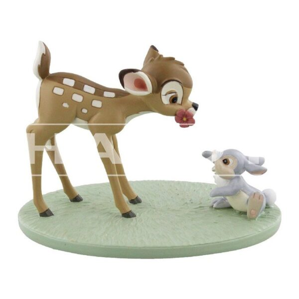 Beeld bambi en stamper