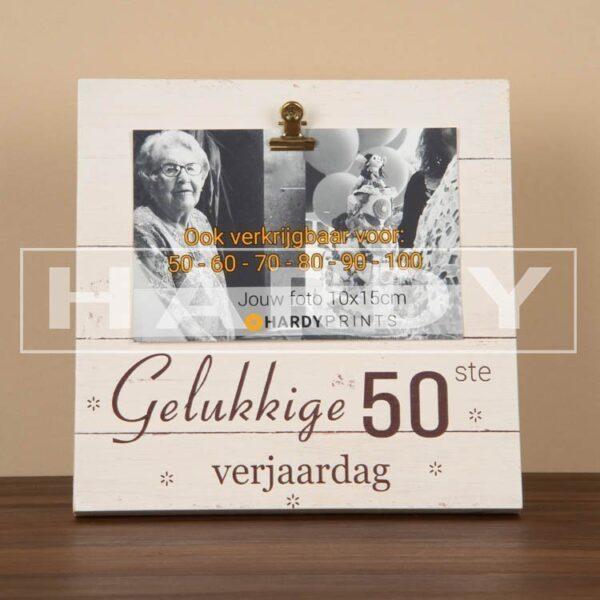 ekstblok Fotoblok 'Gelukkige 50ste verjaardag'