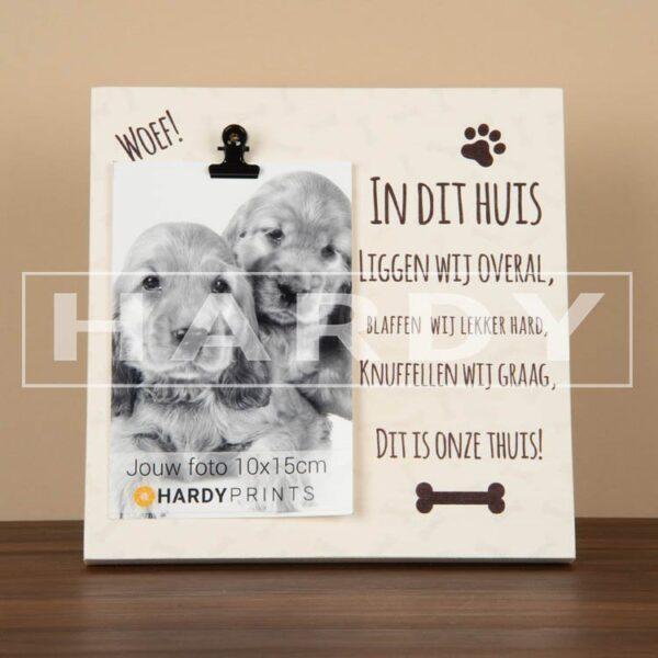 tekstblok Fotoblok 'Honden'