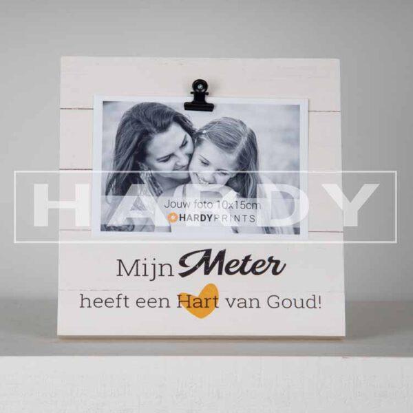 tekstblok Fotoblok 'Mijn Meter heeft een hart van goud'