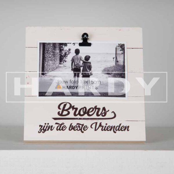 Fotoblok 'Broers zijn de beste vrienden'