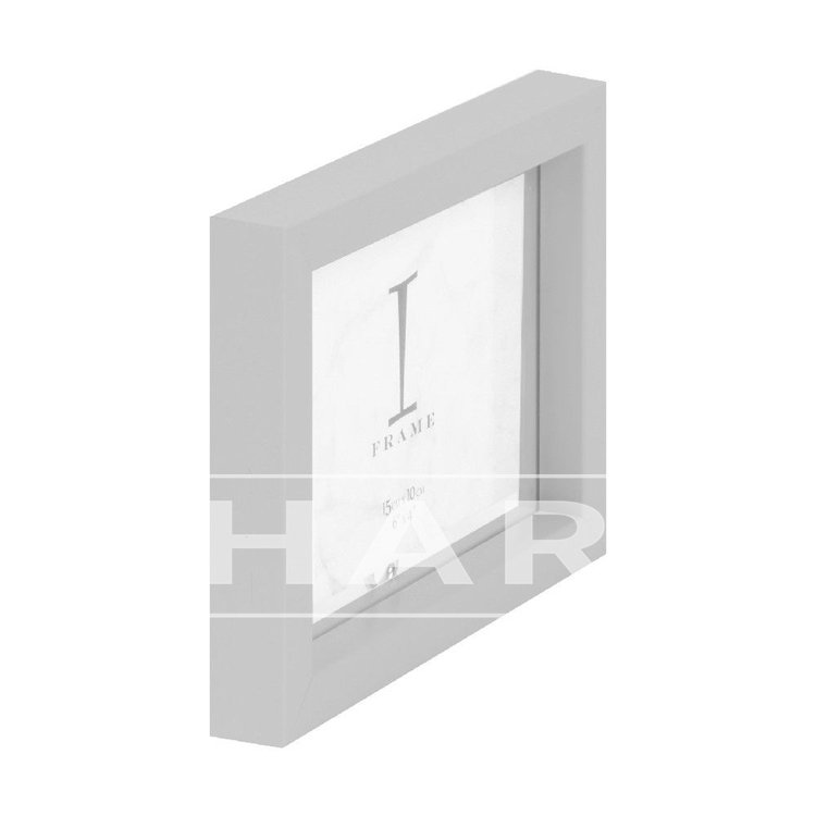 Fotokader grijs 20 x 15 cm