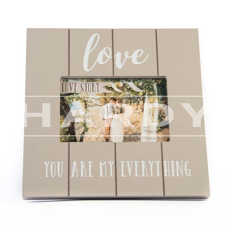 Love you are my everything 23 x 23 cm