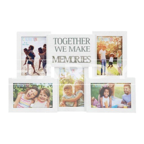 Together we make memories