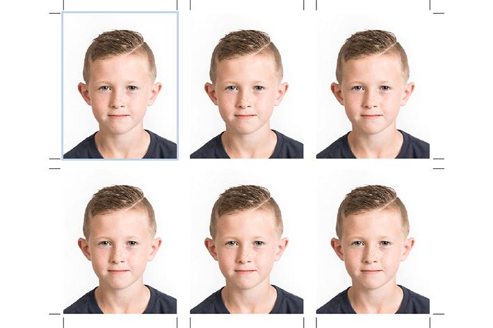 pasfoto's volgens wetgeving