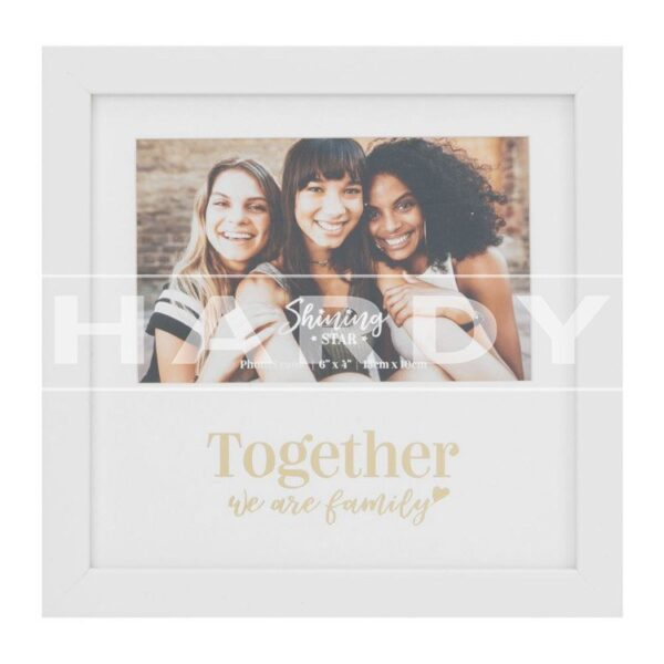 Fotolijst 'Together we are family'