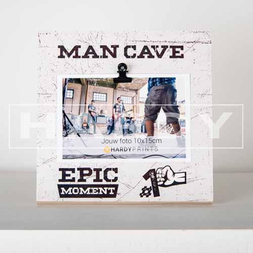 tekstblok Fotoblok 'Man Cave'