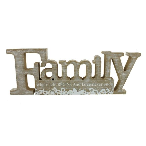 Tekstblok Family
