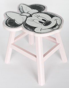 Stoeltje Minnie Mouse - Kinderkamer - decoratie