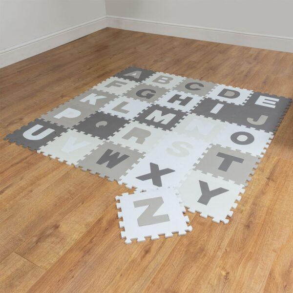 Speelmat + puzzel letters Bambino