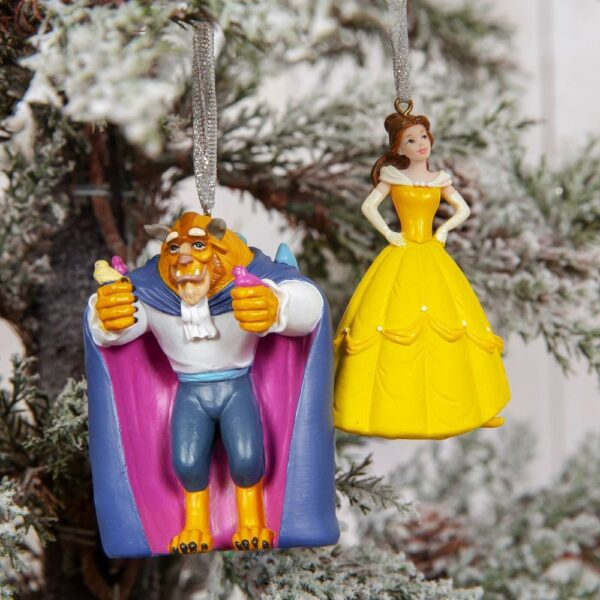 Belle en het Beest kersthangers - HardyPrints - Zonhoven