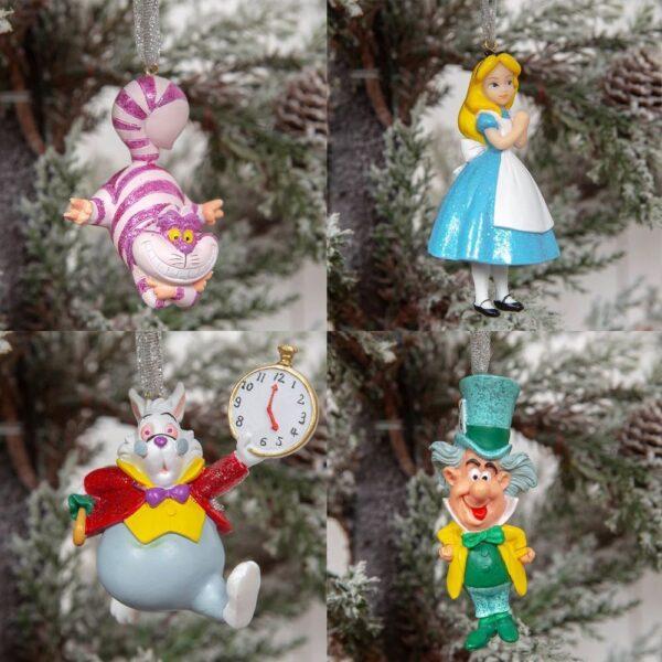 Kersthangers Alice in Wonderland - Disney