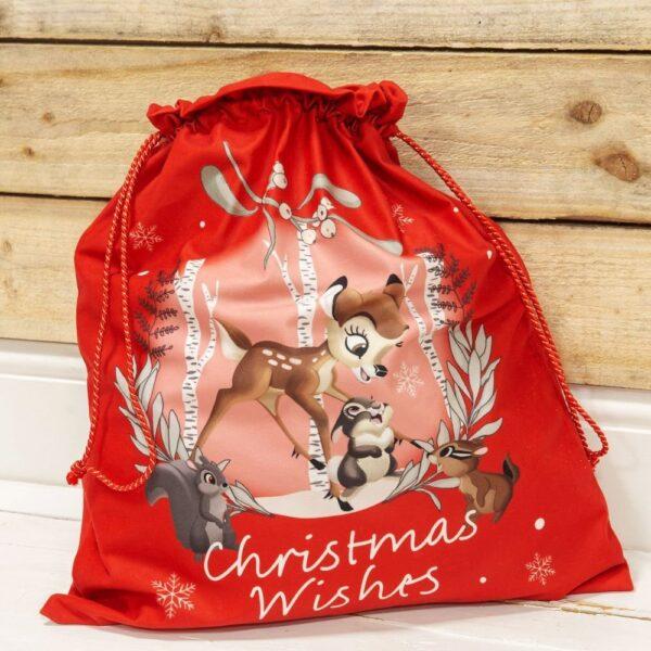 Kerst met Bambi en Stamper - Christmas Wishes - Cadeauzak