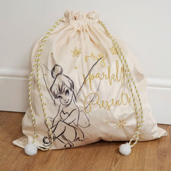Tinkelbel, tinkerbel, Peter Pan, kerstzak, HardyPrints