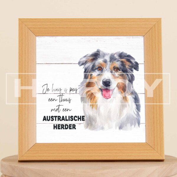 Australische Herder - hond - decoratie - geschenk