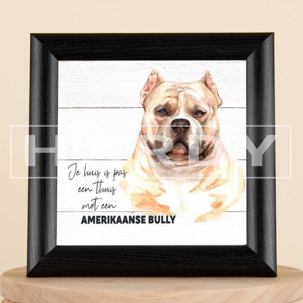 Amerikaanse Bully - hond - decoratie - geschenk