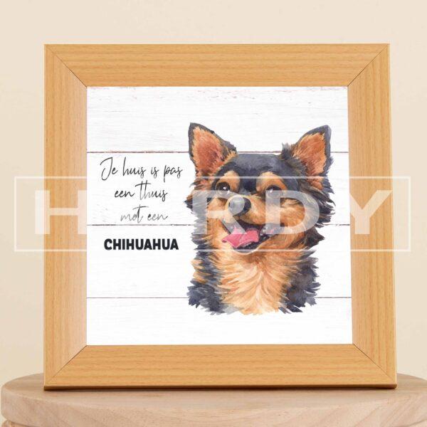 chihuahua - decoratie - kader