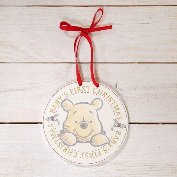 Baby's first christmas - Winne the Pooh - baby's eerste kerst - winnie de poeh