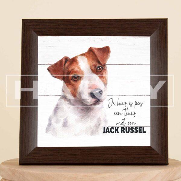 Jack russel - kader - decoratie