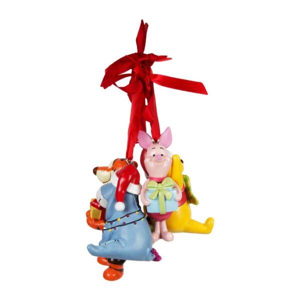 Set of 4 Disney Winnie The Pooh Resin Decorations