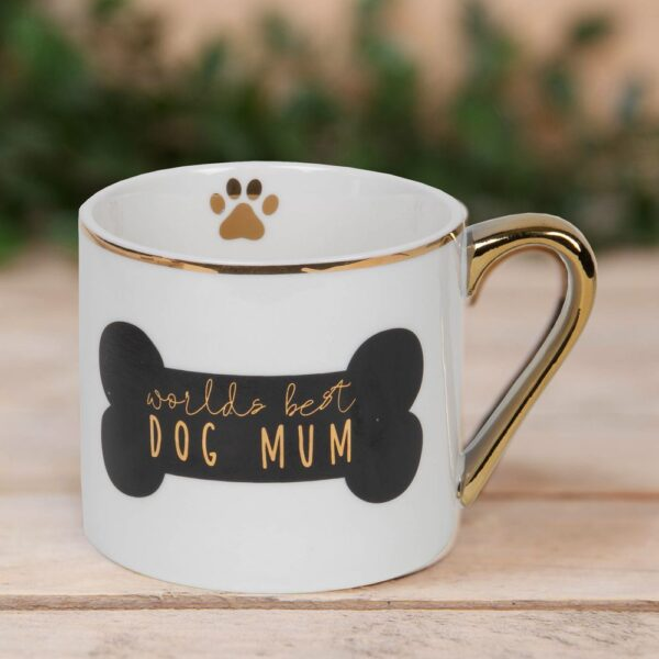 worlds best dog mum - tas - mok