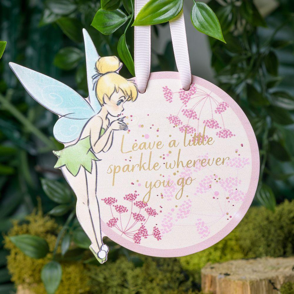 Tinkerbell Disney - TInkelbel - wooden plaque - houten hanger