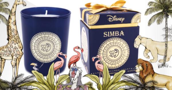 Geurkaars Simba - Lion King - De Leeuwenkoning - Disney - Francal