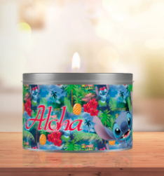Geurkaars Stitch - Aloha - Francal