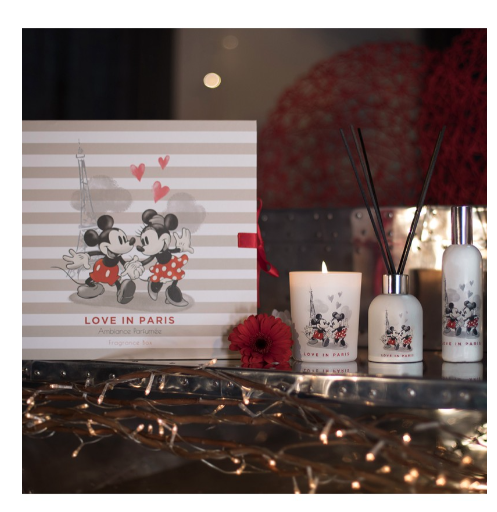 Set Disney Love in Paris - Box - Francal - Geurskaars en parfum