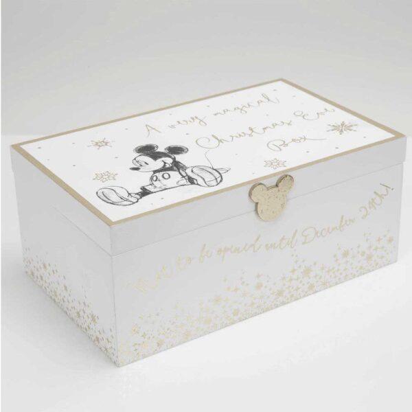 box met Mickey Mouse voor Kerst