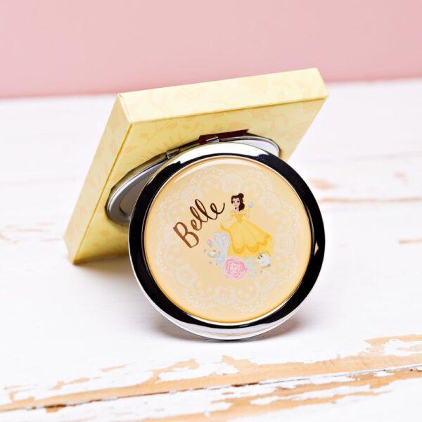 compact spiegeltje voor in de handtas - Disney - Belle
