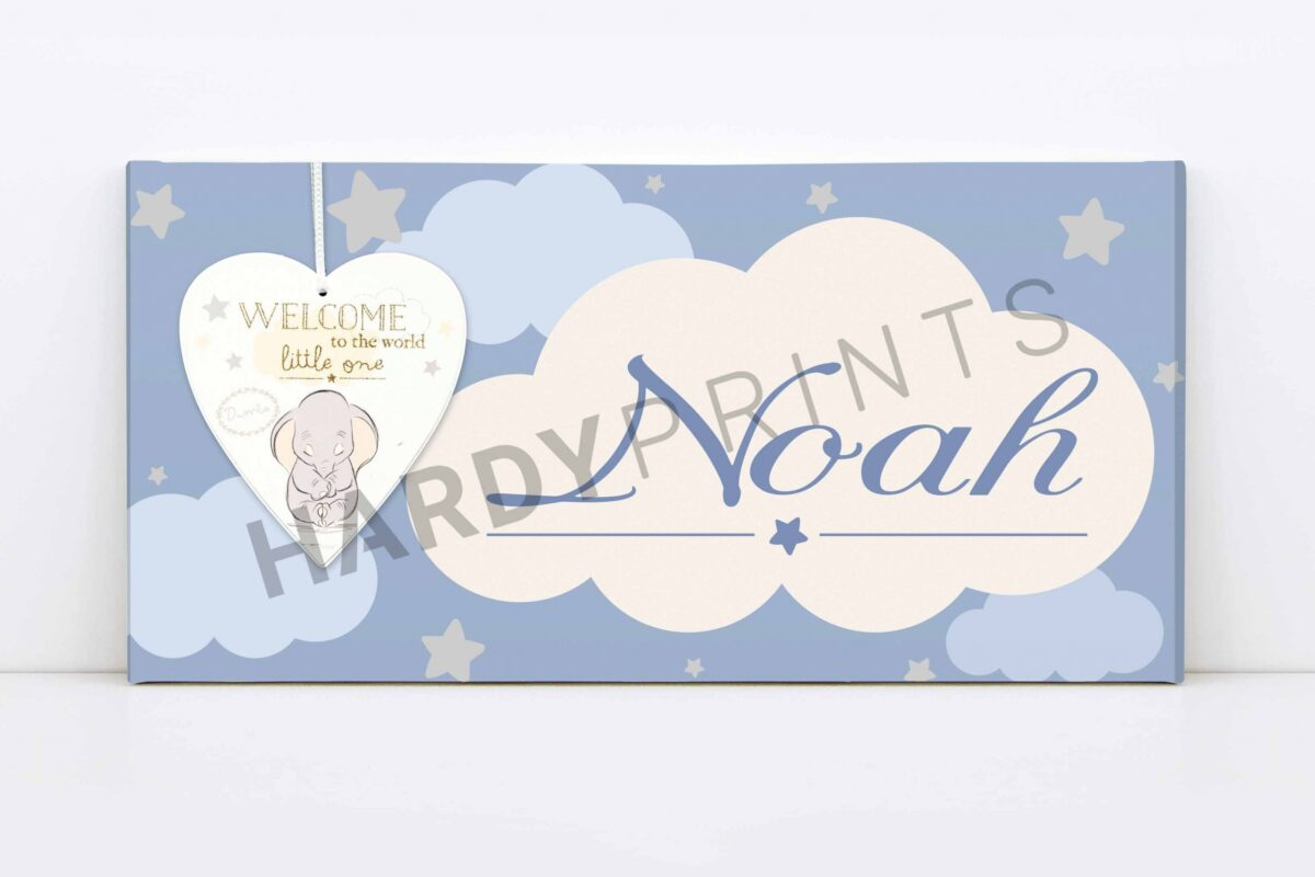 my-canvas met naam - Dumbo - Disney - geschenk