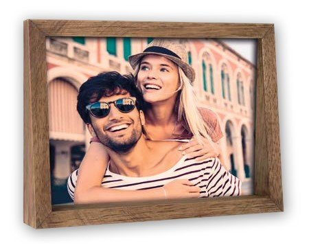 fotokader 15x10 hout bruin - decoratie