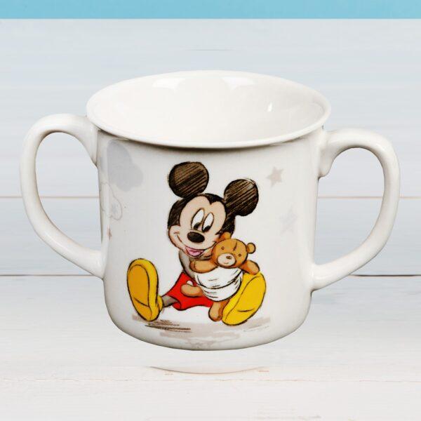 Mickey Mouse mok of tas met twee oren om te leren drinken - baby - kinderen