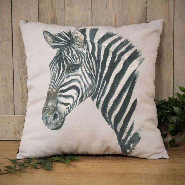 kussen zebra - decoratie hardyprints
