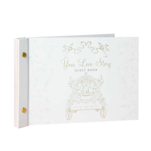 love story guest book - Happily ever after - Disney