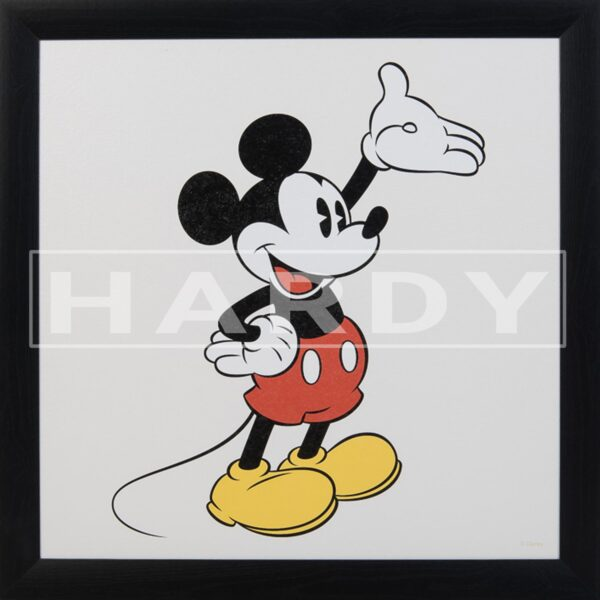 Kader - Retro Mickey - Disney muurdecoratie