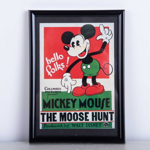 The moose Hunt Mickey Mouse kader - muurdecoratie Disney