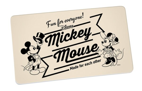 Mickey en Minnie Mouse Vintage Fun Ontbijtplank broodplank Disney