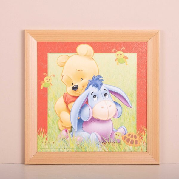 Winnie de Poeh en Eeyore baby - kader - kinderkamer decoratie - Disney