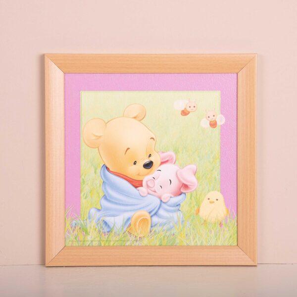 Poeh en Knor baby kader - kinderkamer decoratie - Disney