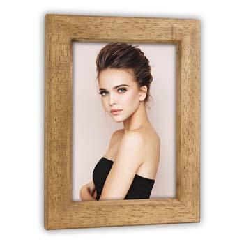 bruine houten fotokader 13x18