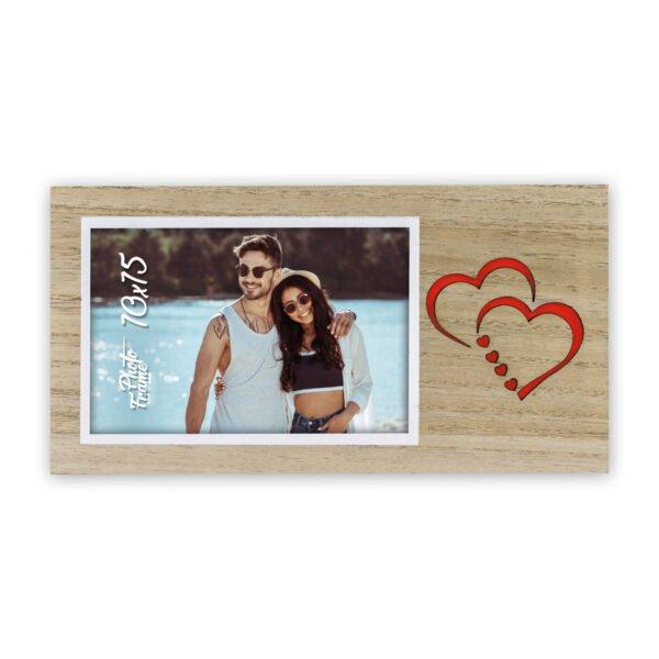 fotokader hartjes, fotokader valentijn, geschenk met foto